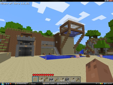 Minecrafthousecleandesign
